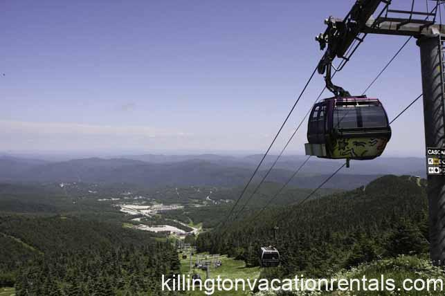 Peak of Killington Mountain