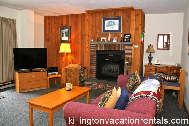 Standard Living room at Mountain Green Resort, Killington, Vermont